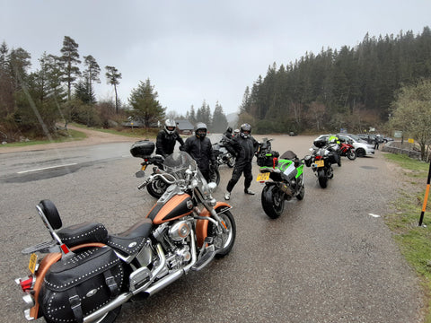 Vosges Motorcycle Tour - In the mountains