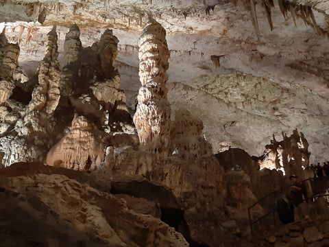Postojna Caves - Balkans Motorcycle Tour