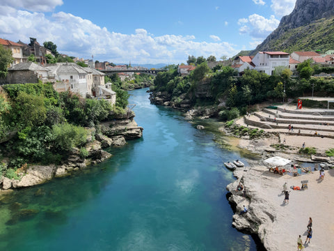 Beautiful Mostar - Balkans Motorcycle Tour