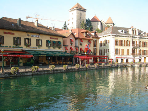 Beautiful Annecy - Alps motorcycle tour