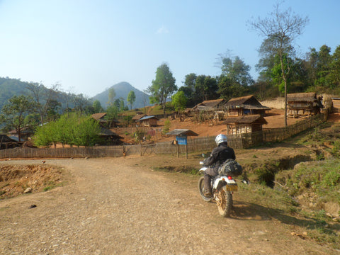 Thailand and Laos Motorcycle Tour - Off road motorcycling in Laos