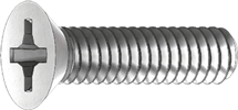 flang phillips drive screw icon
