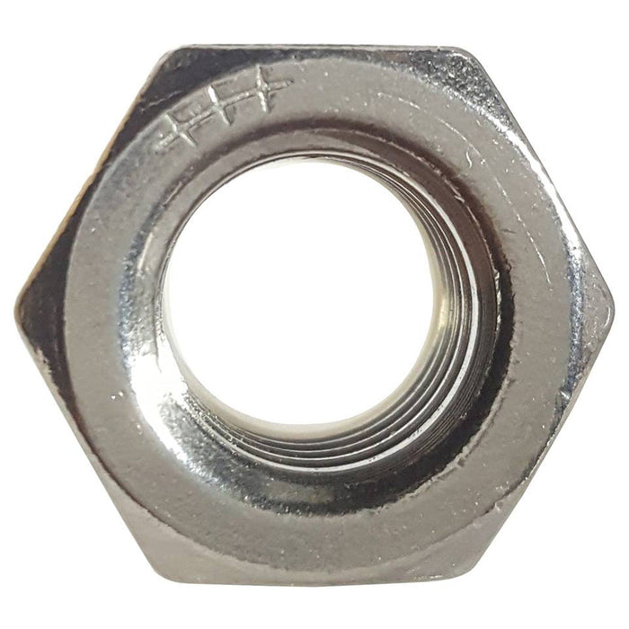 1-14 Nylon Lock Nuts Stainless Steel 18-8 Qty 5