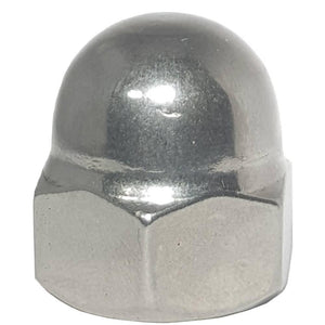 1/2-13 Acorn Cap Nuts Stainless Steel Standard Height Quantity 10