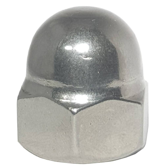6-32 Acorn Cap Nuts Stainless Steel Standard Height Quantity 50