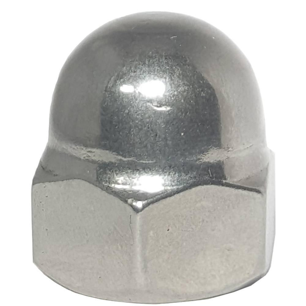 1/4-20 Acorn Cap Nuts Stainless Steel Standard Height Quantity 50