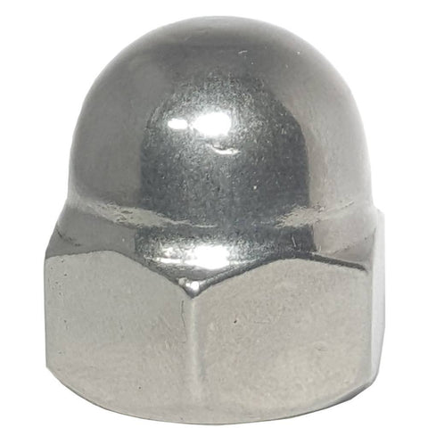 5/16-18 Acorn Cap Nuts Stainless Steel Standard Height Quantity 50