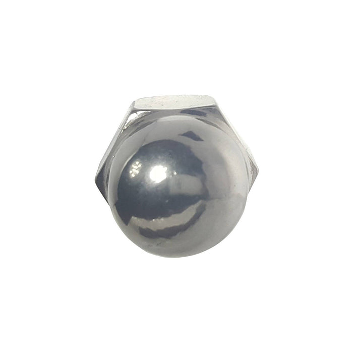 1/2-20 Acorn Cap Nuts Stainless Steel Standard Height Quantity 5