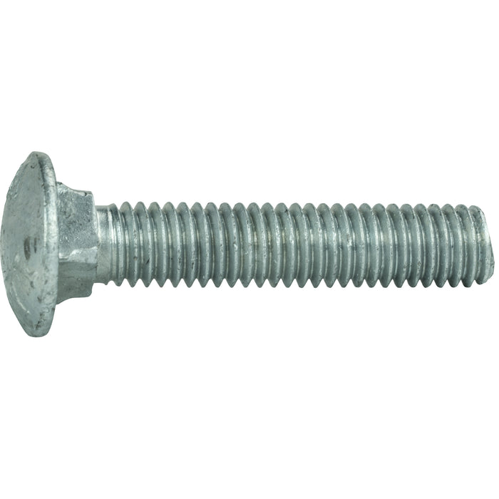 "3/8-16 x 9"" Galvanized Carriage Bolts and Nuts Quantity 10"