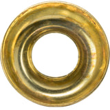 "1/4"" Countersunk Finishing Cup Washers Solid Brass Grade 360 Qty 50"