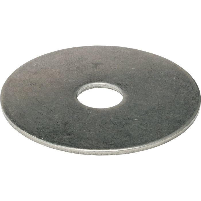 "1/2"" x 2"" Fender Washers Large Diameter Stainless Steel 18-8 Qty 25"