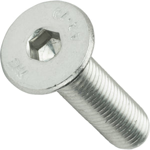 M6-1.00 x 35MM Flat Head Socket Cap Screws Din 7991 Stainless Steel 18-8 Qty 25