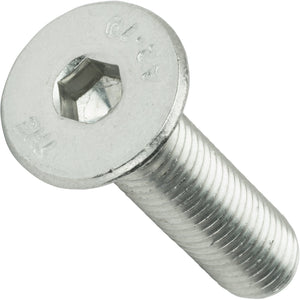 "1/4-20 x 7/16"" Flat Head Socket Cap Screws Stainless Steel 18-8 Qty 25"