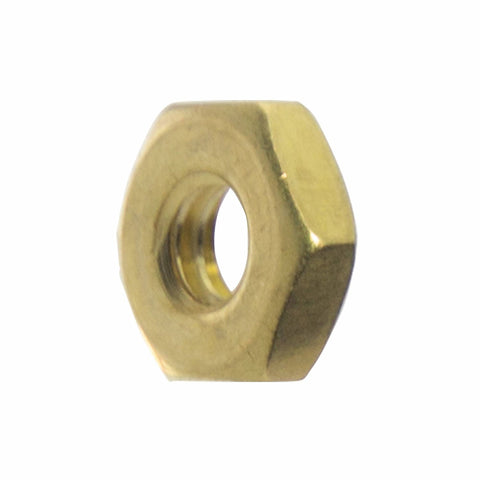 6-32 Machine Screw Hex Nuts, Stainless Steel 18-8, Bright Finish, Quantity 100