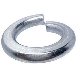 #4 Medium Split Lock Washers Stainless Steel 18-8 Qty 100