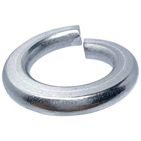#4 Medium Split Lock Washers Stainless Steel 18-8 Qty 100 Washers Fastenere