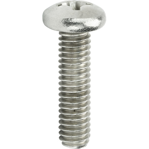 "8-32 x 1-1/2"" Machine Screws Pan Head Phillips Drive Stainless Steel Qty 50"