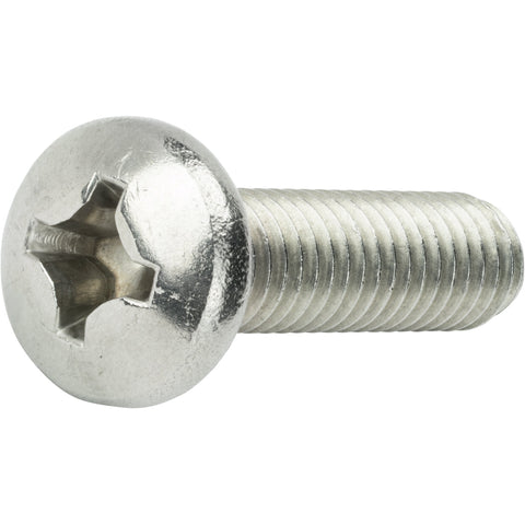 "1/4-20 x 5/8"" Machine Screws Pan Head Phillips Drive Stainless Steel Qty 50"