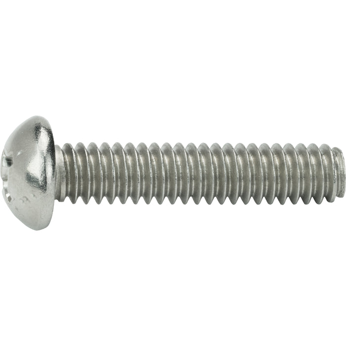 "10-24 x 3"" Phillips Round Head Machine Screws Stainless Steel 18-8 Qty 25"