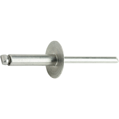 "Large Flange Pop Rivets Stainless Steel 5/32"" x 1/2"" Quantity 25"