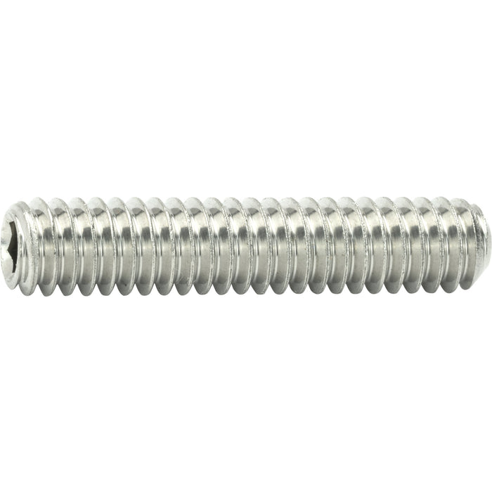 "1/2-13 x 3-1/2"" Grub Screws Allen Socket Set Screw Stainless Steel Qty 10"
