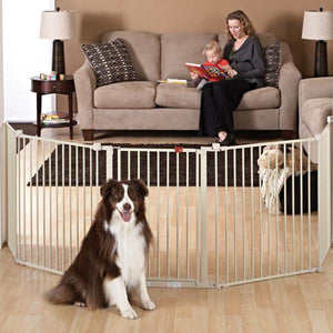 Gates & Fences - Top Paw® Super-Wide Convertible Pet Gate
