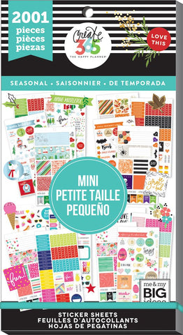 Happy Planner Mini Value Sticker Book - Seasonal 2