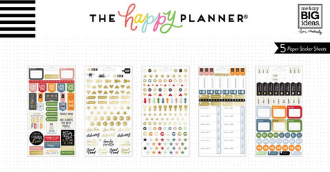 Happy Planner Classic Sticker Book - Good Food