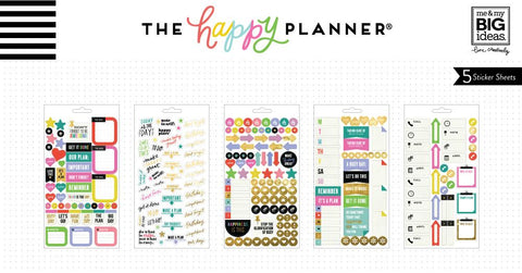 Happy Planner Classic Sticker Book - Everyday Reminders