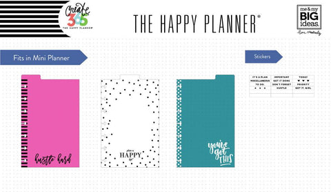 Happy Planner Classic Dashboards