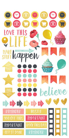 Life Organised - Family Planner Stickers