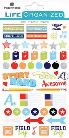 Life Organised - School Planner Stickers