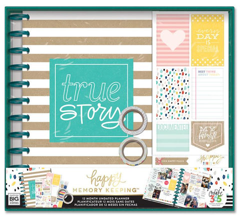 Happy Memory Keeping Box Kit - True Story
