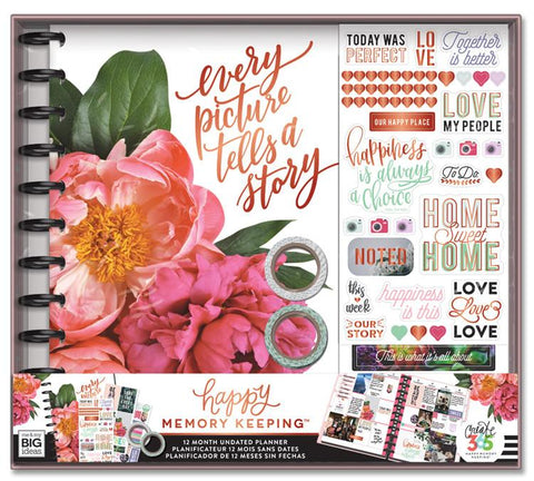 Happy Memory Keeping Box Kit - Every Picture Tells A Story