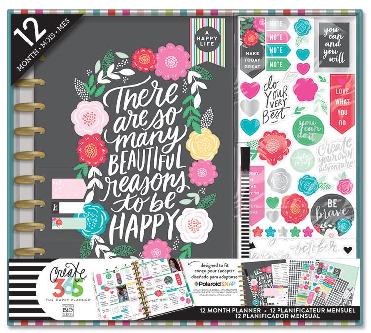 The Happy Planner BIG Box Kit - Flower Pop