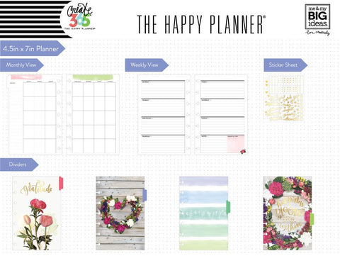 Happy Planner Mini - Wildflower