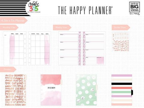 The Happy Planner Mini - Lovely Pastels