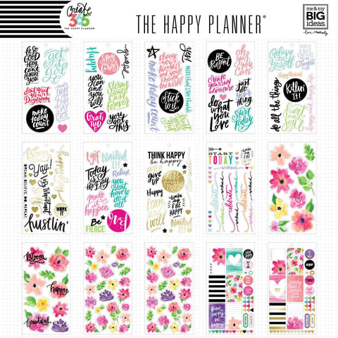 Happy Planner BIG Value Sticker Pack - Today Is The Day