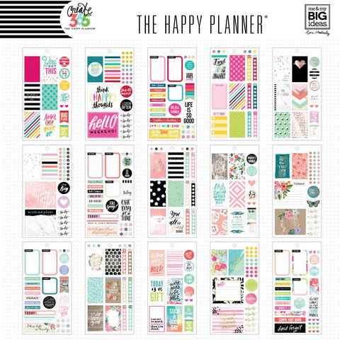 Happy Planner Classic Value Sticker Pack - Colour Story