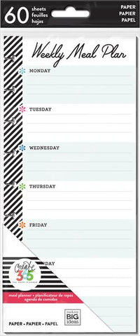 Happy Planner Classic Half Sheets - Meal Plan