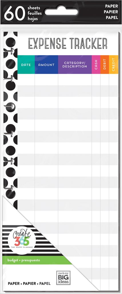 Happy Planner Half Sheets - Budget