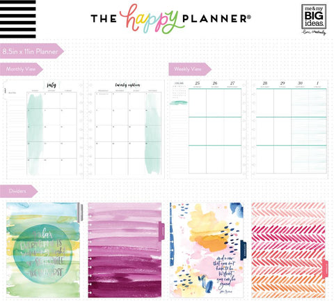 Happy Planner  BIG18 Month DATED - Life is Beautiful
