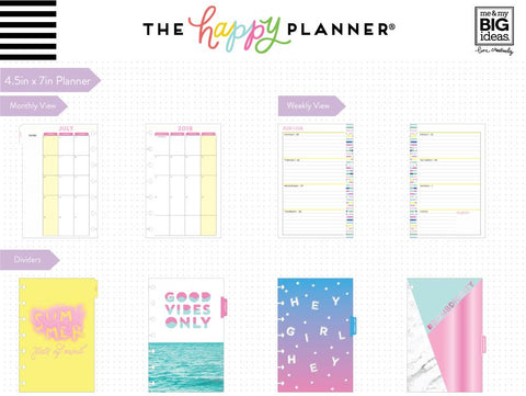 Happy Planner DATED (Mini)  - Big Plans