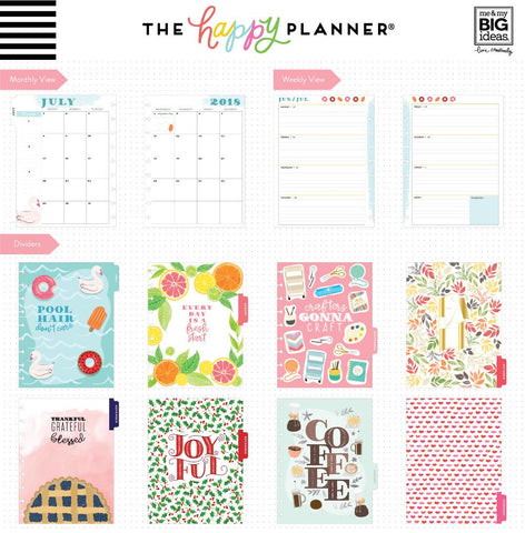 Happy Planner Classic 18 Month DATED - Enjoy All The Things