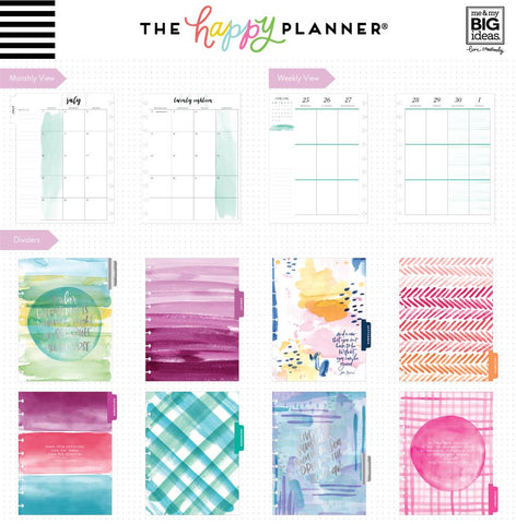 Happy Planner Classic 18 Month DATED - Life is Beautiful