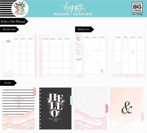 DELUX Happy Memory Keeping BIG Planner - My Story