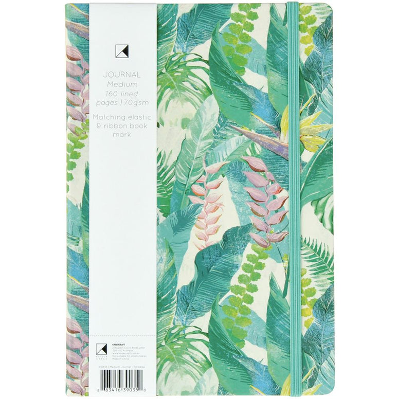 Hardcover Journal - Paradise