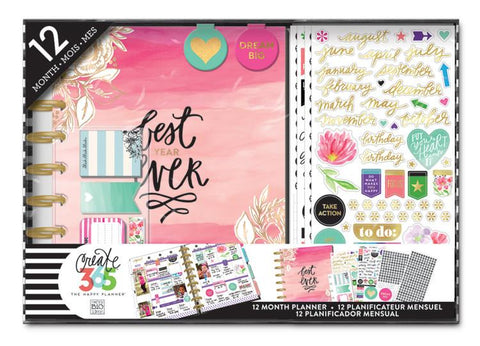 The Happy Planner Classic - Best Year Ever 12 Month Classic Box Kit