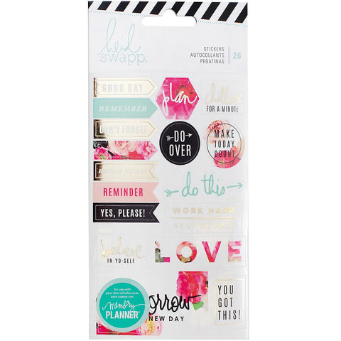 Hiedi Swapp Memory Planner Stickers - Floral