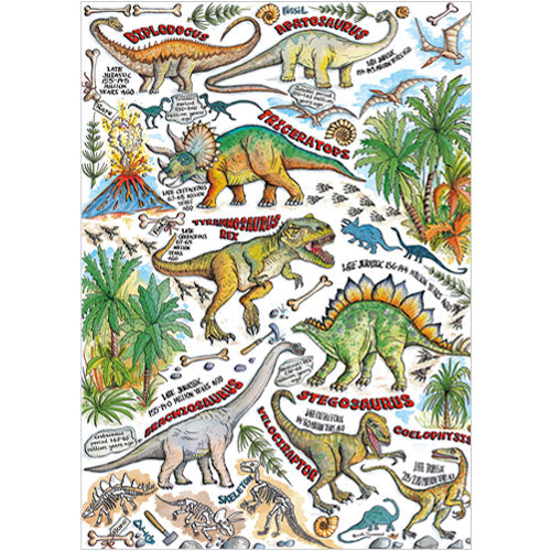 Greeting Card - Dinosaurs